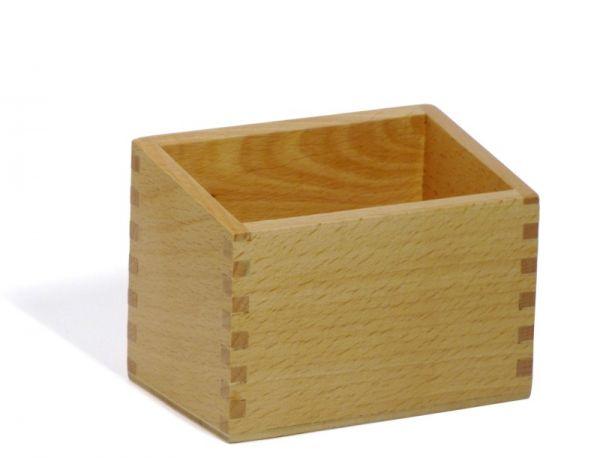 Box für Sandpapier-Fühlzahlen