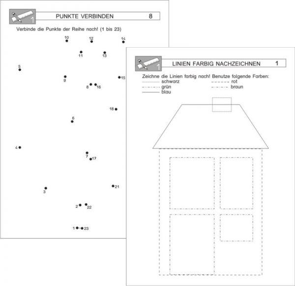 Mit Stift und Lineal - Kopiervorlagen