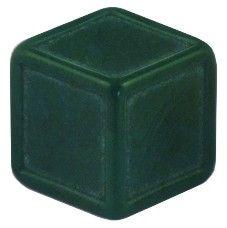 Blankowürfel 19mm grün