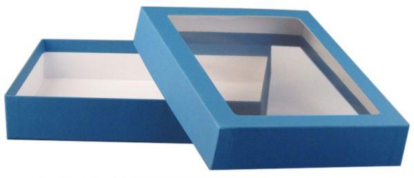 Fensterbox - A5 blau