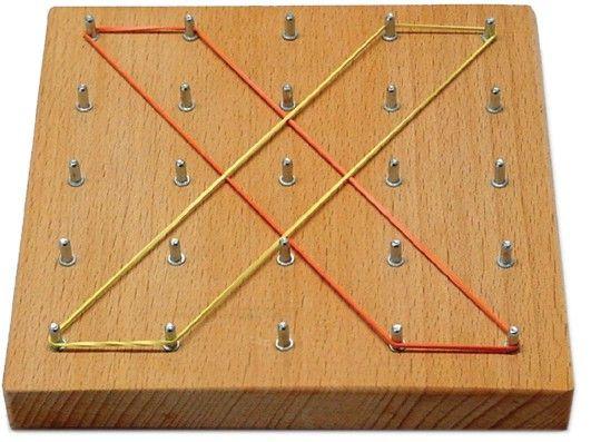 Geobrett 5x5 - Holz