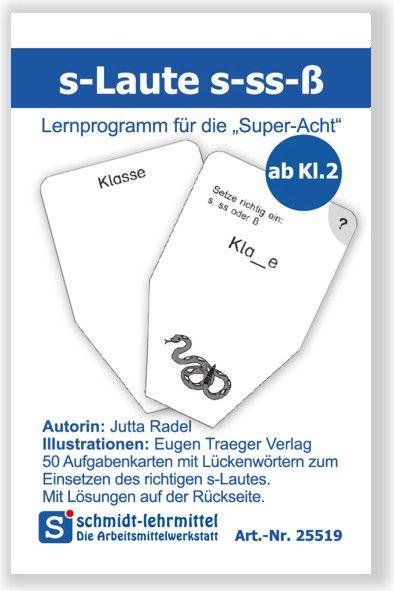 s-Laute s-ß-ss (Super-8)