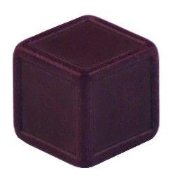 Blankowürfel 19mm violett