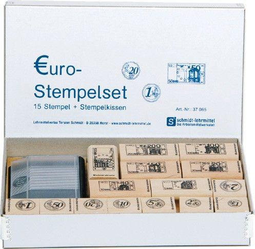 Euro-Stempel-Set