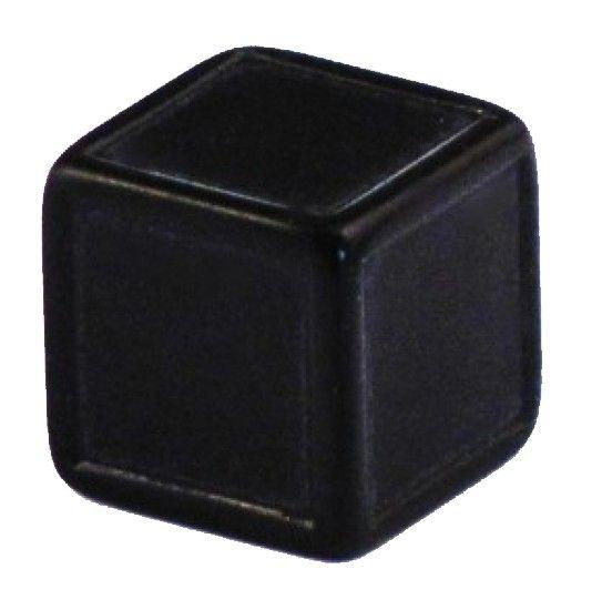 Blankowürfel 19mm schwarz