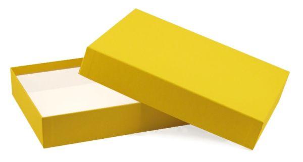 Spielebox - A5 gelb
