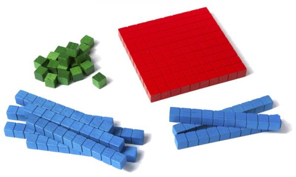 Zehnersystemsatz - 100er Box Montessori