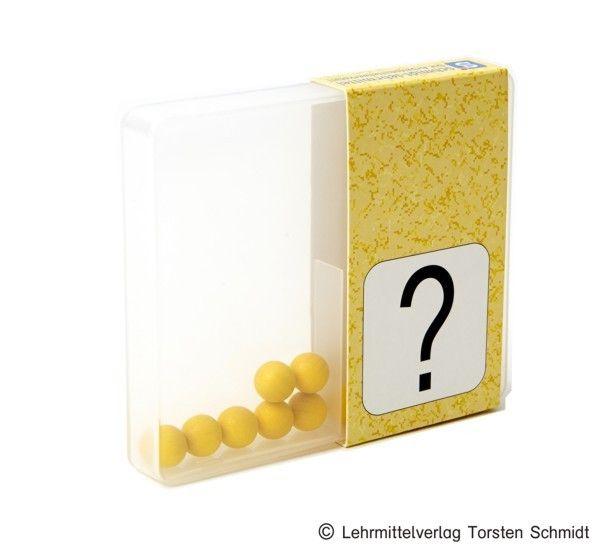 Schüttelbox komplett - gelb