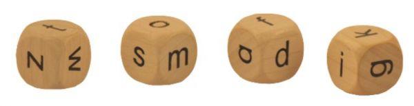 Kleinbuchstaben Würfelset