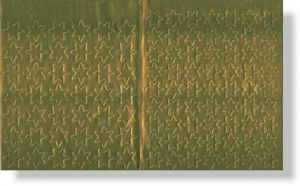 Lob-Sticker - Goldene Sterne