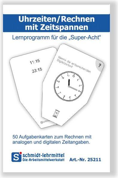 Rechnen mit Uhrzeiten (Super-8)