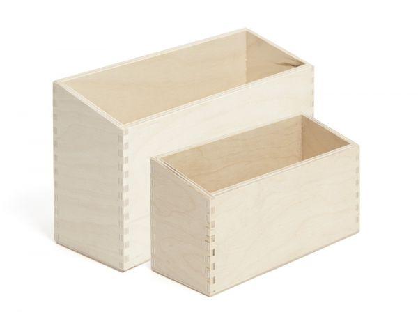 Karteikasten Holz - A5 quer