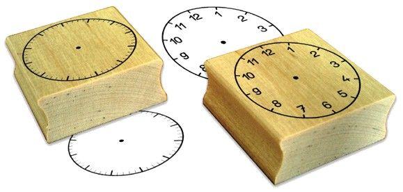Stempelset - Uhren