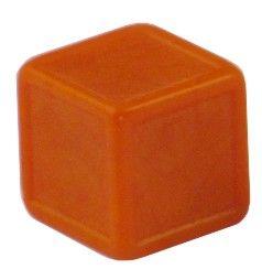 Blankowürfel 19mm orange