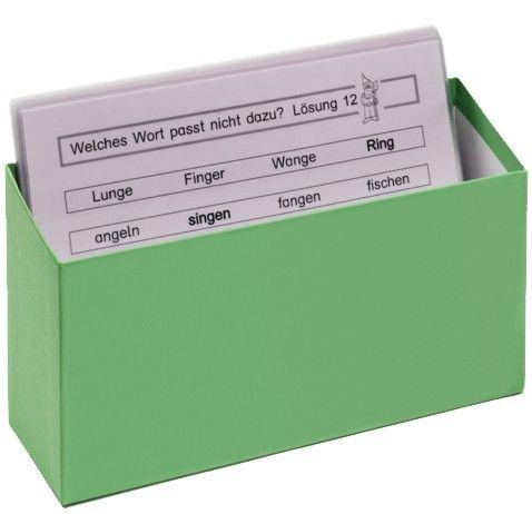 Kombiangebot: 'Zwergenkarten' + Box