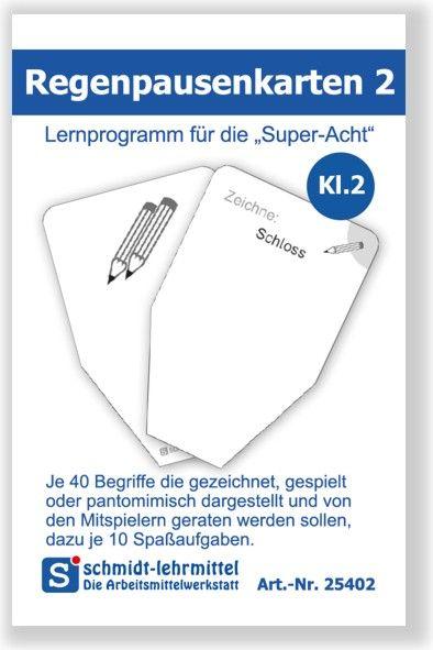 Regenpausenkarten Kl 2 (Super-8)