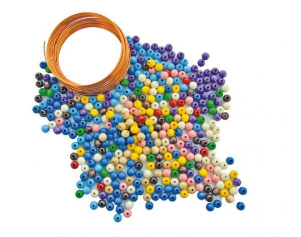Perlenstangen Bastel-Set für 10 x 10 Perlenstangen