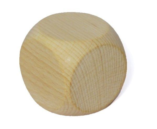 Rohholzwürfel abgerundet 60mm