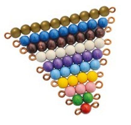 Montessori-Perlenstangen