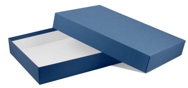 Spielebox - A4 blau
