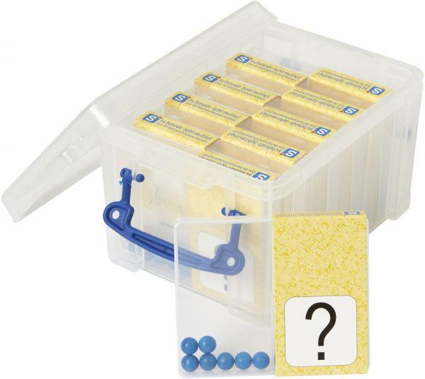 Schüttelbox 10er-Pack - blau