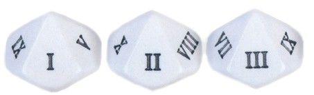 Römische Zahlen Würfel 1-10