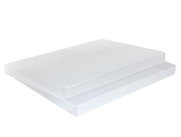 Transparent-Box A4 flach