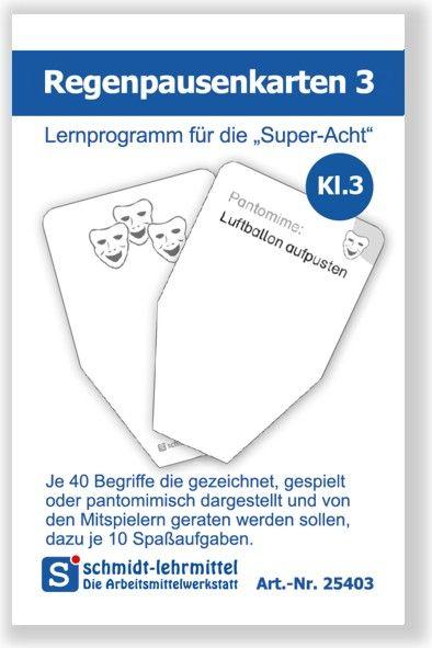 Regenpausenkarten Kl 3 (Super-8)