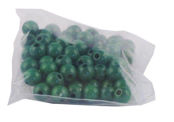 Perlen 8mm - grün (75Stk)