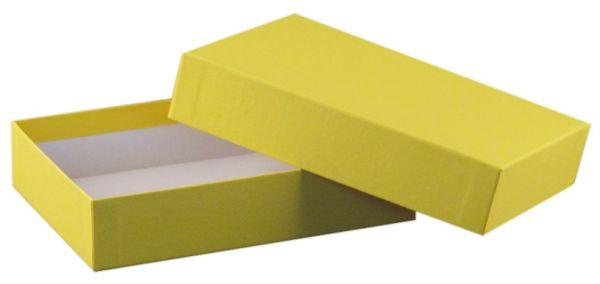 Spielebox - A6 gelb