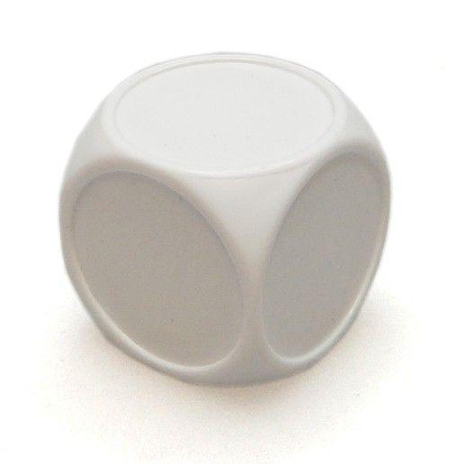 Blankowürfel 22mm weiß