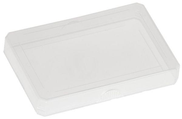 Kunststoff-Etui - flach