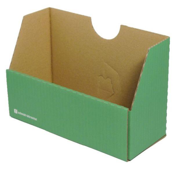 Falt-Karteibox DIN A4/A5 - grün