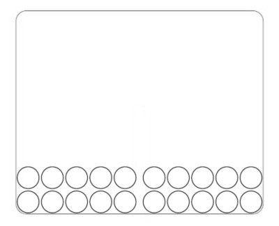 Zehnerfeld für die Schüttelbox (10Stk)