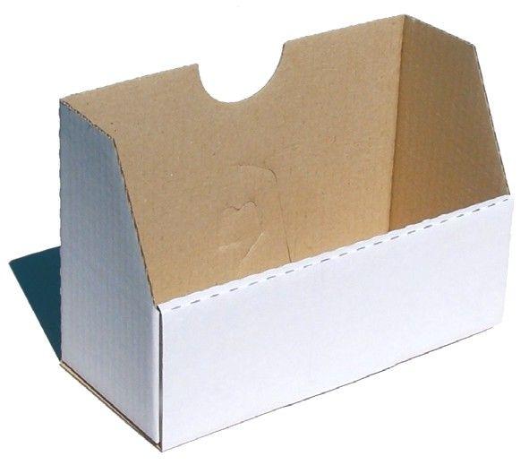 Falt-Karteibox DIN A4/A5 - weiß