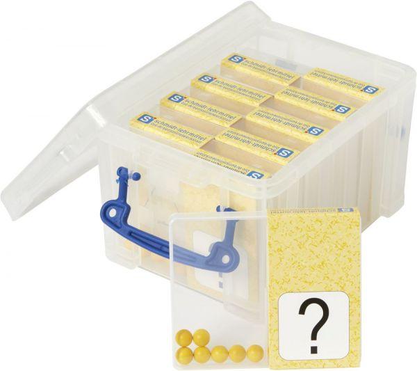 Schüttelbox 10er-Pack - gelb