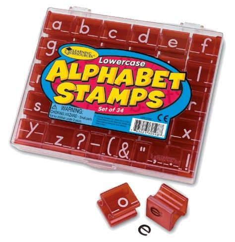 Stempelset - Kleinbuchstaben