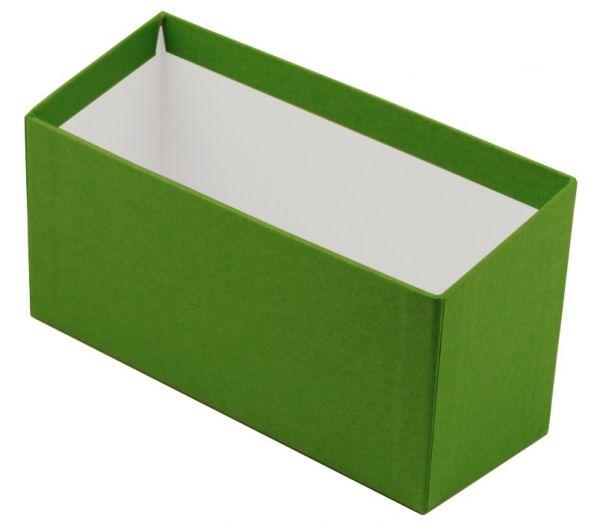 Karteibox A6 quer - grün
