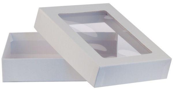 Fensterbox - A6 weiß