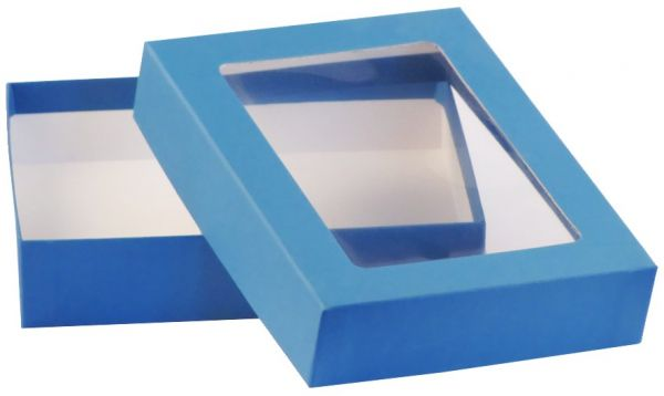 Fensterbox - A6 blau