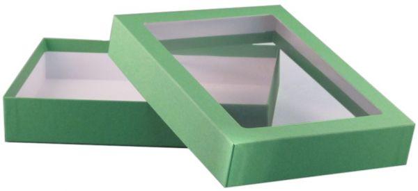Fensterbox - A5 grün