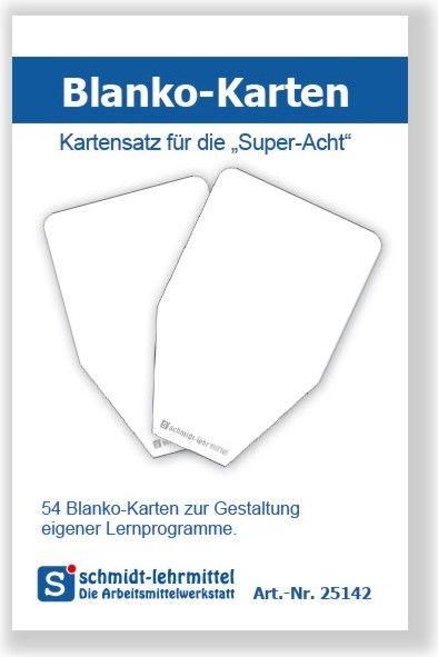 Blanko-Karten für Super-Acht