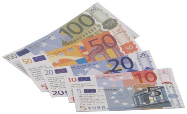 Euro Rechengeld - Scheine