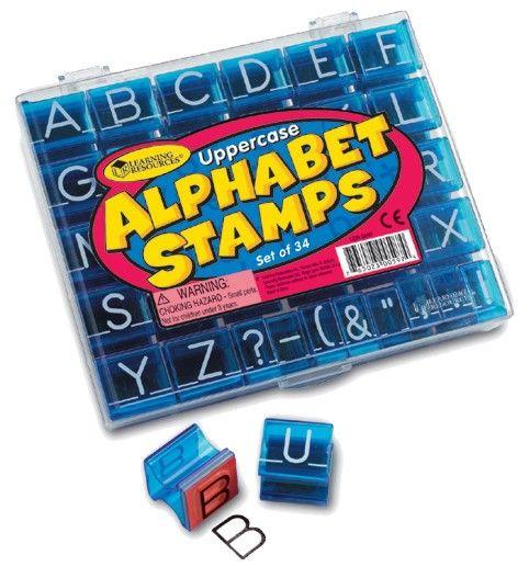 Stempelset - Großbuchstaben